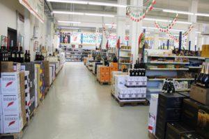 italienischer Supermarkt in Bielefeld