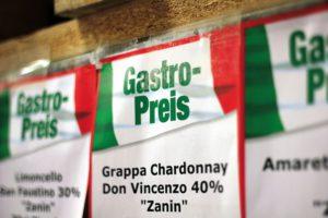 italienische Produkte zum Gastronomiepreis