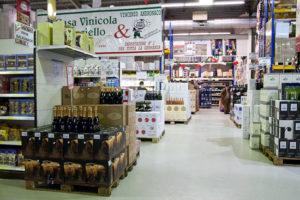 Andronaco Filiale mit italienischen Lebensmitteln
