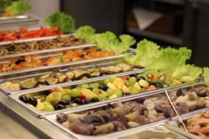 italienisches Buffet im Bistro