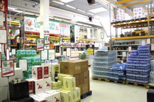 italienischer Supermarkt in Ratingen von innen