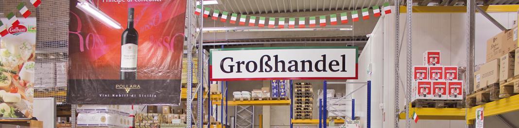 Italienischer Großhandel für Lebensmittel und Produkte