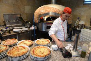italienische Pizza aus dem Ofen