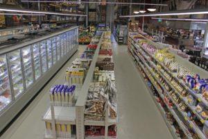 italienischer Supermarkt von innen