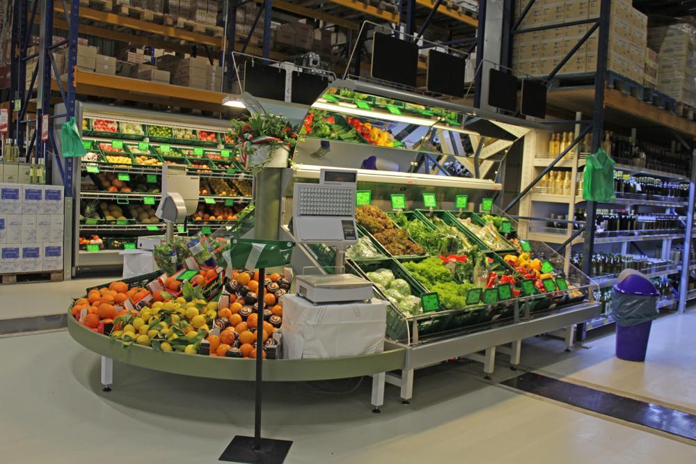 Gemüse aus Italien im Supermarkt
