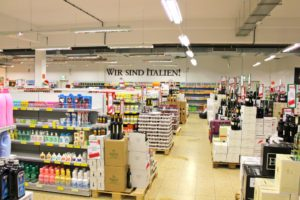 italienischer Supermarkt in Lübeck