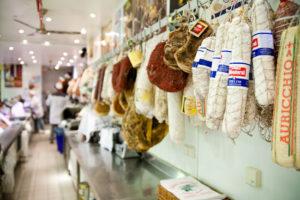 Fleisch in der Salumeria in Dortmund