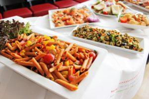 Italienische Speisen beim Brunch
