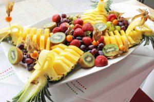 Obst beim Brunch