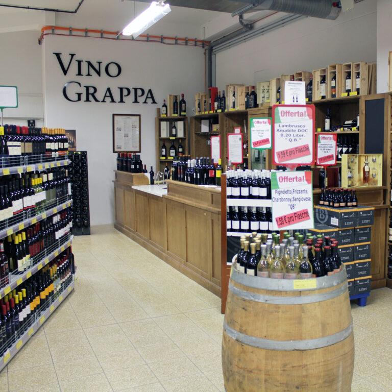 Weinabteilung Androcao